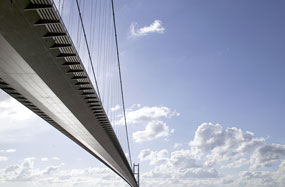 Humber Bridge: area will focus on green energy