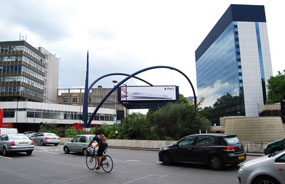 Old Street: area has been dubbed 'Silicon Roundabout'