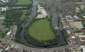 Green infrastructure: Crescent Meadows, Salford