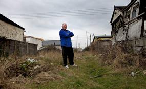 A Coastal Jaywick resident