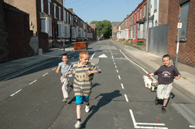 A deprived community in Liverpool