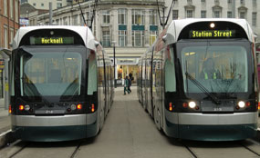 An extension to the Nottingham Express Transit network has been approved