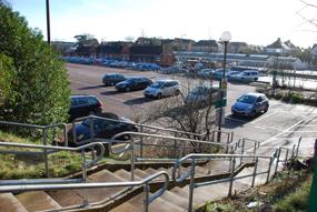 Newbury train station car park
