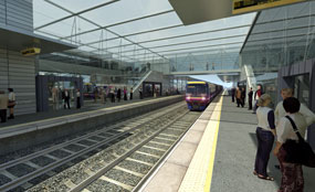 A new report says that the Scottish Government should consider becoming more involved in the Edinburgh tram project.