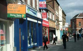 Empty shops: report says 11% are vacant