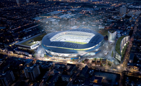 A visualisation of the proposed Tottenham Hotspur stadium