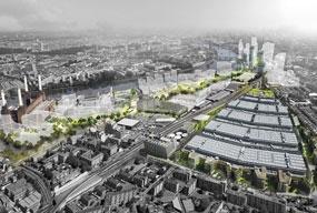 Nine Elms: tube extension funding package announced
