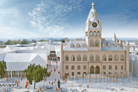 Masterplan for Chester's Northgate area includes provision for refurbished town hall