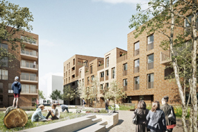 Permission for 400 homes has been granted by the London Borough of Hackney