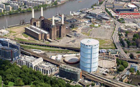 Battersea: gas holders site will make way for 800 homes