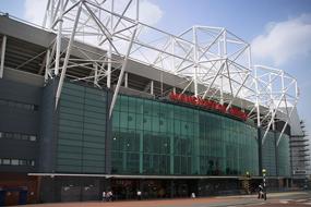 Manchester Utd's ground Old Trafford
