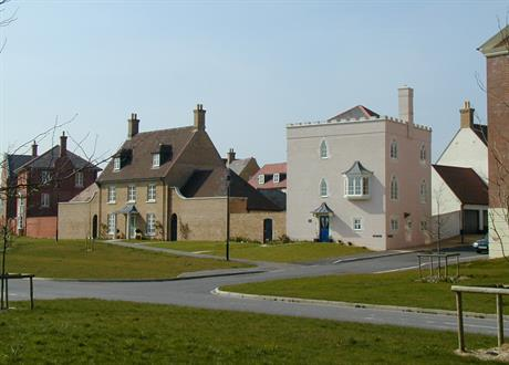 Poundbury in Dorset. Pic: Marilyn Peddle, Flickr