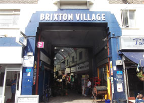 Brixton Village: example of successful redevelopment of historic area