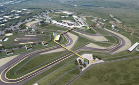 Circuit of Wales: artist's impression