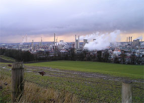Grangemouth: plan to boost economy of surrounding area