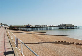 Hastings pier: local charity in control