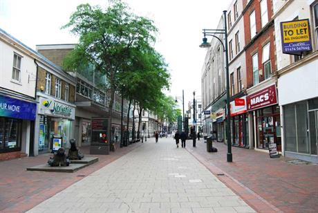 High Streets: report backs retail-resi conversions