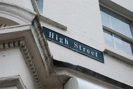 High Streets: vacancy rates remain high