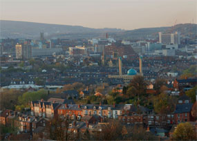 Sheffield: city would be part of new joint authority