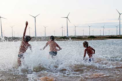 Renewables reunited...most of Brazil's electricity comes from hydropower