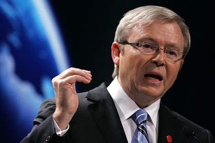 Australian PM Kevin Rudd suffers further CPRS defeat