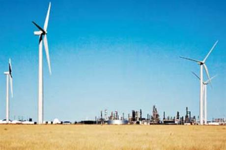 Valero has built a 50 MW Wind Farm at Sunray, Texas