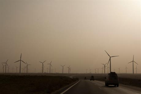Wind capacity… Depressed in China (photo:landrovermena)
