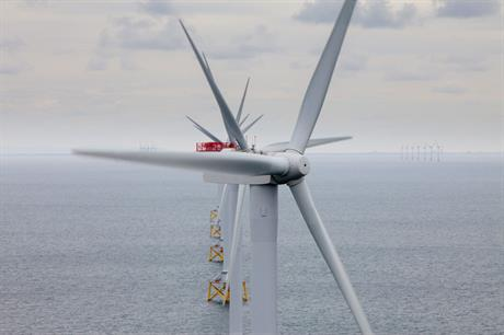 Think big… Eight of the ten largest projects announced in 2012 are UK offshore projects (photo:Vattenfall)