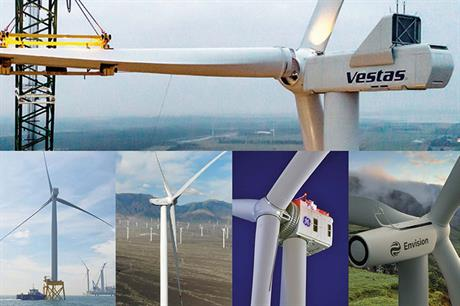 Vestas holds firm as leading OEM as China challenges for top spots