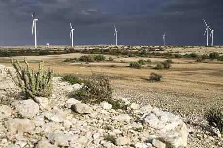 Pakistan has good wind resources (photo:Nordex)