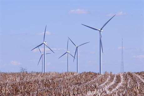 Buy-in… Canadian pension firm Borealis Infrastructure bought a 49% stake in four US wind projects (pic:EDPR)