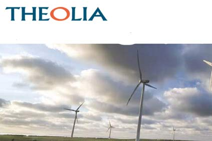 Theolia: divesting of assets to fund project development