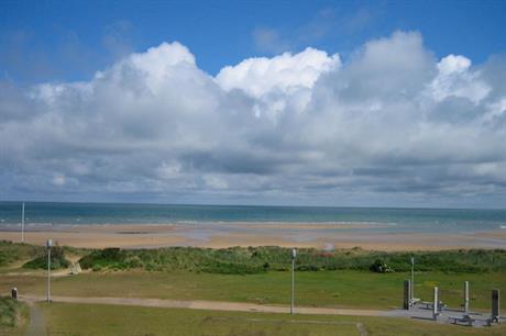 Juno beach - the turbines will be 10km offshore