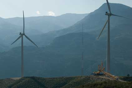 Spain will need more wind farms such as this one in Andalucia if it is to reach its 22% target
