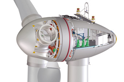 Enercon's E82 - the average size of turbine installed in Germany has doubled since 2000