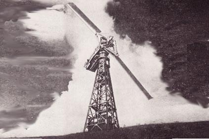 The 1.25MW Smith-Putnam wind turbine, the first 1MW+ design