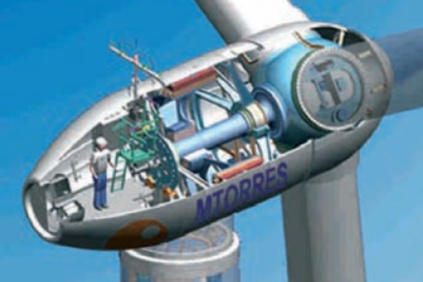 The project will use MTorres 1.65MW direct drive turbines