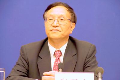 National Energy Bureau minister Zhang Guobao