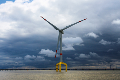 Blue H is planning to use a 5-7MW turbine on its next floating platform trial