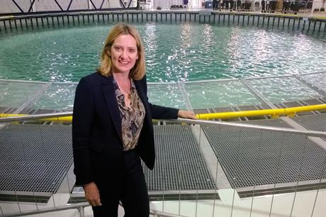 New energy minister Amber Rudd could struggle to implement election promises while meeting EU renewables targets (pic: Decc)