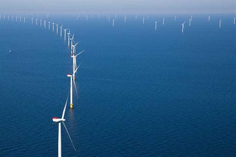 The Anholt offshore project remains online (pic: Siemens)