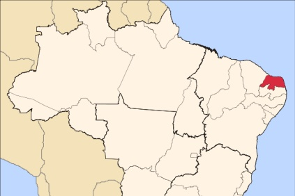 The Grande do Norte region is in the north of the country