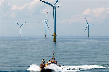 Precedents… Germany and Denmark are already operating offshore wind farms in the Baltic Sea (pic: Siemens)