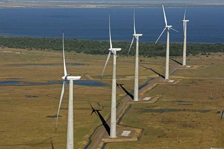 Work hard… Strong stable winds give produce high capacity factors for projects (pic: Acciona)