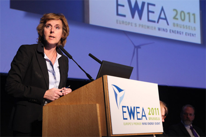 EU commissioner for climate change Connie Hedegaard
