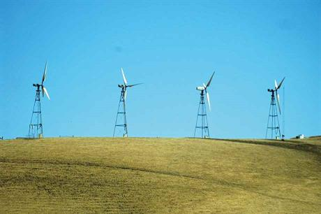 California has more than 4,000 turbines that are at least 30 years old