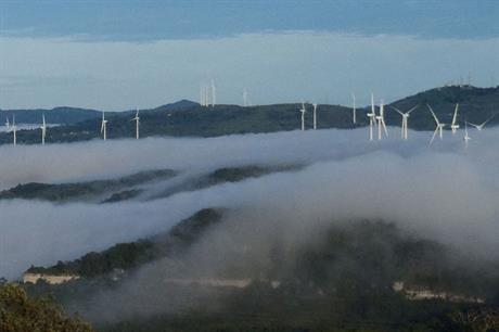 Ambitious… The 102MW Cerro de Hula project was Honduras' first wind farm, built 1,500 metres above sea level