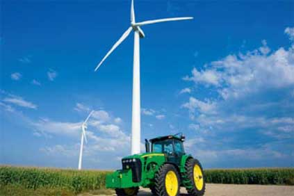 John Deere is reconsidering its involvement in the US wind business