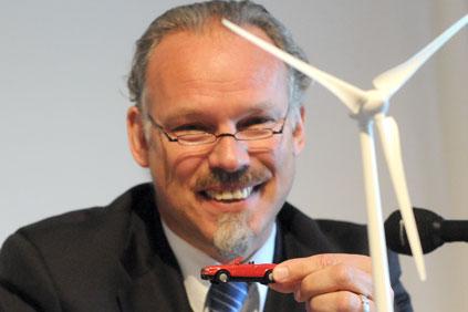 BWE president Hermann Albers