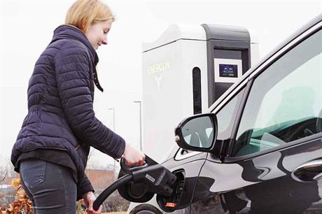 Quick… Enercon's E-charger 600 can charge a car in eight minutes for 400km (pic: ENERCON GMBH)